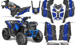 Polaris Scrambler 850 XP 2013 2014 CreatorX Graphics Kit Danger Zone Blue 150x90 - Polaris Scrambler 850 1000 2013-2016 Graphics