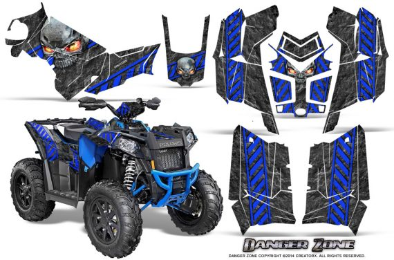 Polaris Scrambler 850 XP 2013 2014 CreatorX Graphics Kit Danger Zone Blue 570x376 - Polaris Scrambler 850 1000 2013-2016 Graphics