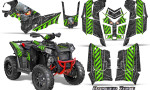 Polaris Scrambler 850 XP 2013 2014 CreatorX Graphics Kit Danger Zone Green 150x90 - Polaris Scrambler 850 1000 2013-2016 Graphics