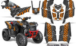 Polaris Scrambler 850 XP 2013 2014 CreatorX Graphics Kit Danger Zone Orange 150x90 - Polaris Scrambler 850 1000 2013-2016 Graphics