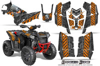 Polaris-Scrambler-850-XP-2013-2014-CreatorX-Graphics-Kit-Danger-Zone-Orange