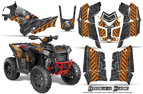 Polaris Scrambler 850 XP 2013 2014 CreatorX Graphics Kit Danger Zone Orange 570x376 - Polaris Scrambler 850 1000 2013-2016 Graphics