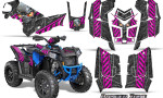 Polaris Scrambler 850 XP 2013 2014 CreatorX Graphics Kit Danger Zone Pink 150x90 - Polaris Scrambler 850 1000 2013-2016 Graphics