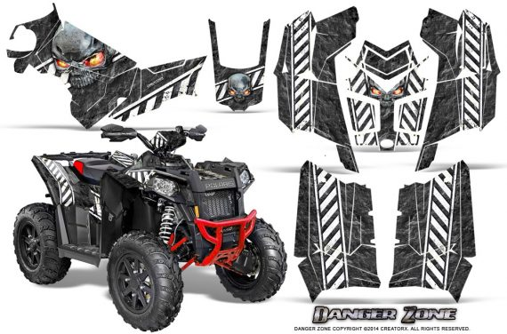 Polaris-Scrambler-850-XP-2013-2014-CreatorX-Graphics-Kit-Danger-Zone-White
