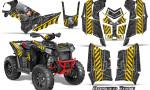 Polaris Scrambler 850 XP 2013 2014 CreatorX Graphics Kit Danger Zone Yellow 150x90 - Polaris Scrambler 850 1000 2013-2016 Graphics