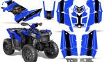 Polaris Scrambler 850 XP 2013 2014 CreatorX Graphics Kit Top Fuel Black Blue 150x90 - Polaris Scrambler 850 1000 2013-2016 Graphics