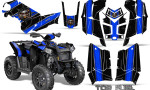 Polaris Scrambler 850 XP 2013 2014 CreatorX Graphics Kit Top Fuel Blue Black 150x90 - Polaris Scrambler 850 1000 2013-2016 Graphics