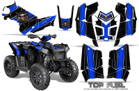Polaris-Scrambler-850-XP-2013-2014-CreatorX-Graphics-Kit-Top-Fuel-Blue-Black