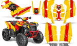 Polaris Scrambler 850 XP 2013 2014 CreatorX Graphics Kit Top Fuel Red Yellow 150x90 - Polaris Scrambler 850 1000 2013-2016 Graphics