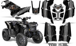 Polaris Scrambler 850 XP 2013 2014 CreatorX Graphics Kit Top Fuel Silver Black 150x90 - Polaris Scrambler 850 1000 2013-2016 Graphics