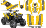 Polaris Scrambler 850 XP 2013 2014 CreatorX Graphics Kit Top Fuel Silver Yellow 150x90 - Polaris Scrambler 850 1000 2013-2016 Graphics