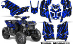 Polaris Scrambler 850 XP 2013 2014 CreatorX Graphics Kit Tribal Madness Blue 150x90 - Polaris Scrambler 850 1000 2013-2016 Graphics