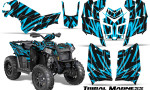Polaris Scrambler 850 XP 2013 2014 CreatorX Graphics Kit Tribal Madness BlueIce 150x90 - Polaris Scrambler 850 1000 2013-2016 Graphics