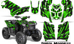 Polaris Scrambler 850 XP 2013 2014 CreatorX Graphics Kit Tribal Madness Green 150x90 - Polaris Scrambler 850 1000 2013-2016 Graphics