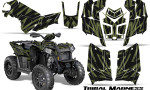 Polaris Scrambler 850 XP 2013 2014 CreatorX Graphics Kit Tribal Madness GreenArmy 150x90 - Polaris Scrambler 850 1000 2013-2016 Graphics