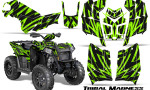 Polaris Scrambler 850 XP 2013 2014 CreatorX Graphics Kit Tribal Madness GreenLime 150x90 - Polaris Scrambler 850 1000 2013-2016 Graphics