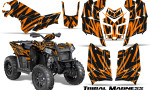 Polaris Scrambler 850 XP 2013 2014 CreatorX Graphics Kit Tribal Madness Orange 150x90 - Polaris Scrambler 850 1000 2013-2016 Graphics