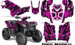 Polaris Scrambler 850 XP 2013 2014 CreatorX Graphics Kit Tribal Madness Pink 150x90 - Polaris Scrambler 850 1000 2013-2016 Graphics