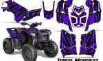 Polaris Scrambler 850 XP 2013 2014 CreatorX Graphics Kit Tribal Madness Purple 150x90 - Polaris Scrambler 850 1000 2013-2016 Graphics