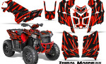 Polaris Scrambler 850 XP 2013 2014 CreatorX Graphics Kit Tribal Madness Red 150x90 - Polaris Scrambler 850 1000 2013-2016 Graphics