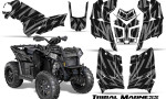 Polaris Scrambler 850 XP 2013 2014 CreatorX Graphics Kit Tribal Madness Silver 150x90 - Polaris Scrambler 850 1000 2013-2016 Graphics