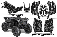 Polaris-Scrambler-850-XP-2013-2014-CreatorX-Graphics-Kit-Tribal-Madness-Silver