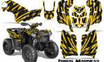 Polaris Scrambler 850 XP 2013 2014 CreatorX Graphics Kit Tribal Madness Yellow 150x90 - Polaris Scrambler 850 1000 2013-2016 Graphics