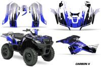 Suzuki-King-Quad-500AXI-Graphic-Kit-Vinyl-CarbonX-Blue