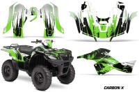 Suzuki-King-Quad-500AXI-Graphic-Kit-Vinyl-CarbonX-Green