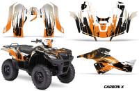 Suzuki-King-Quad-500AXI-Graphic-Kit-Vinyl-CarbonX-Orange