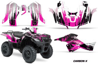 Suzuki-King-Quad-500AXI-Graphic-Kit-Vinyl-CarbonX-Pink