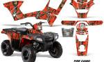 Polaris Sportsman 90 AMR Graphic Kit Decal Firecamo 150x90 - Polaris Sportsman 90 110 2007-2016 Graphics