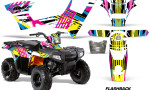 Polaris Sportsman 90 AMR Graphic Kit Decal Flashback 150x90 - Polaris Sportsman 90 110 2007-2016 Graphics