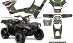 Polaris Sportsman 90 AMR Graphic Kit Decal P40 BG 150x90 - Polaris Sportsman 90 110 2007-2016 Graphics