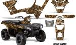 Polaris Sportsman 90 AMR Graphic Kit Decal Wing Camo 150x90 - Polaris Sportsman 90 110 2007-2016 Graphics