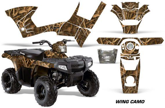 Polaris Sportsman 90 AMR Graphic Kit Decal Wing Camo 570x376 - Polaris Sportsman 90 110 2007-2016 Graphics