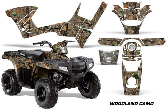 Polaris Sportsman 90 AMR Graphic Kit Decal Woodland Camo 570x376 - Polaris Sportsman 90 110 2007-2016 Graphics