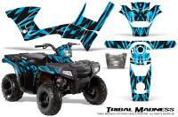 Polaris-Sportsman-90-CreatorX-Graphics-Kit-Tribal-Madness-BlueIce
