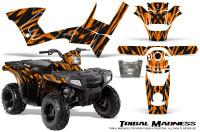 Polaris-Sportsman-90-CreatorX-Graphics-Kit-Tribal-Madness-Orange