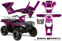 Polaris-Sportsman-90-CreatorX-Graphics-Kit-Tribal-Madness-Pink