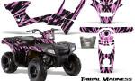 Polaris Sportsman 90 CreatorX Graphics Kit Tribal Madness PinkLite 150x90 - Polaris Sportsman 90 110 2007-2016 Graphics