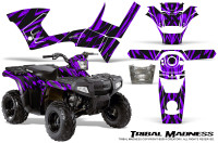 Polaris-Sportsman-90-CreatorX-Graphics-Kit-Tribal-Madness-Purple