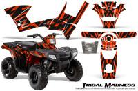 Polaris-Sportsman-90-CreatorX-Graphics-Kit-Tribal-Madness-Red