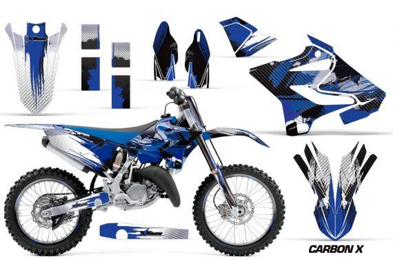 Yamaha YZ 125 250 2015 Graphics Kit Carbon X 570x376 - Yamaha YZ125 YZ250 2 Stroke 2015-2019 Graphics