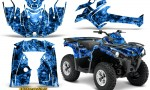 Can Am Outlander L 2014 2016 CreatorX Graphics Kit Inferno Blue 150x90 - Can-Am Outlander 2014-2019 450 570 L Max-L DPS Graphics