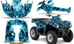Can Am Outlander L 2014 2016 CreatorX Graphics Kit Inferno BlueIce 150x90 - Can-Am Outlander 2014-2019 450 570 L Max-L DPS Graphics