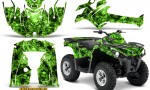 Can Am Outlander L 2014 2016 CreatorX Graphics Kit Inferno Green 150x90 - Can-Am Outlander 2014-2019 450 570 L Max-L DPS Graphics