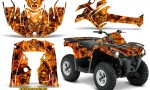 Can Am Outlander L 2014 2016 CreatorX Graphics Kit Inferno Orange 150x90 - Can-Am Outlander 2014-2019 450 570 L Max-L DPS Graphics