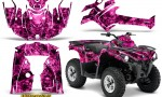 Can Am Outlander L 2014 2016 CreatorX Graphics Kit Inferno Pink 150x90 - Can-Am Outlander 2014-2019 450 570 L Max-L DPS Graphics
