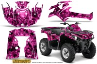 Can-Am-Outlander-L-2014-2016-CreatorX-Graphics-Kit-Inferno-Pink